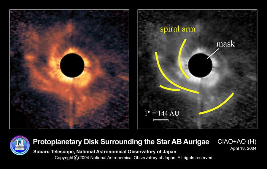 solar system formation animation - photo #42
