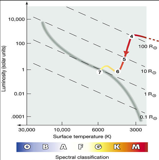 Star formation on the h r diagram this diagram plots the evolutionary track of a sunlike protostar in the hertzsprung russell diagram ccuart Images